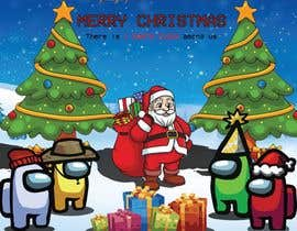 #9 for Design a Christmas and Among Us Themed Image af ZanntulEvana222