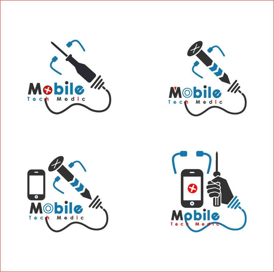 design a logo for cell phone repair company freelancer