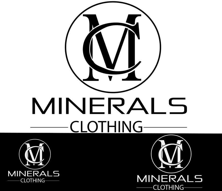 Konkurrenceindlæg #213 for Design a Logo for Minerals Clothing