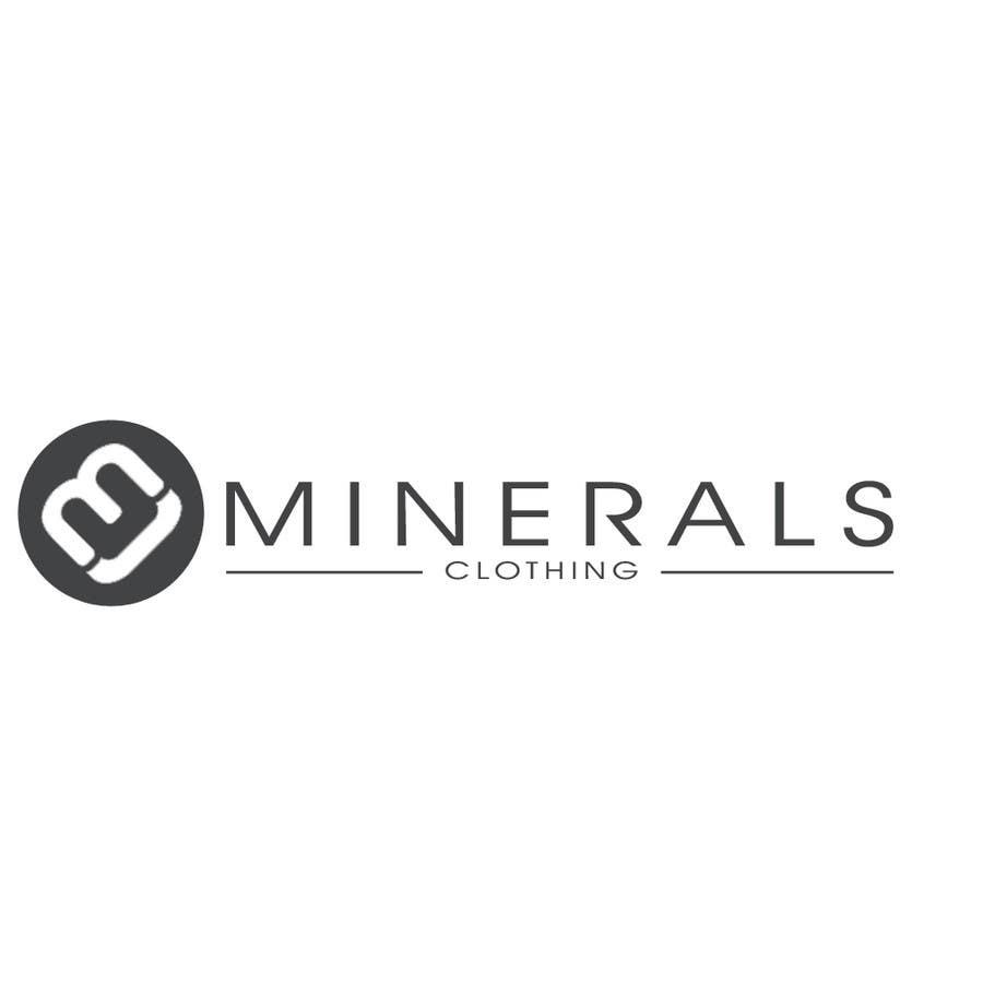 Konkurrenceindlæg #208 for Design a Logo for Minerals Clothing