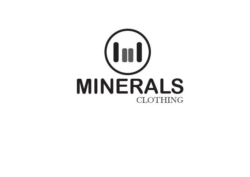 Konkurrenceindlæg #235 for Design a Logo for Minerals Clothing