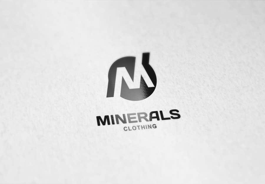 Konkurrenceindlæg #240 for Design a Logo for Minerals Clothing