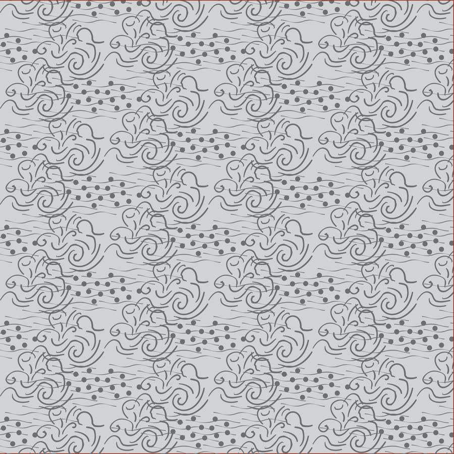Proposition n°                                        87                                      du concours                                         Artwork design for textile pattern