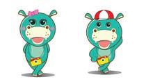 Illustration for a company mascot. [Hippo] için Graphic Design9 No.lu Yarışma Girdisi