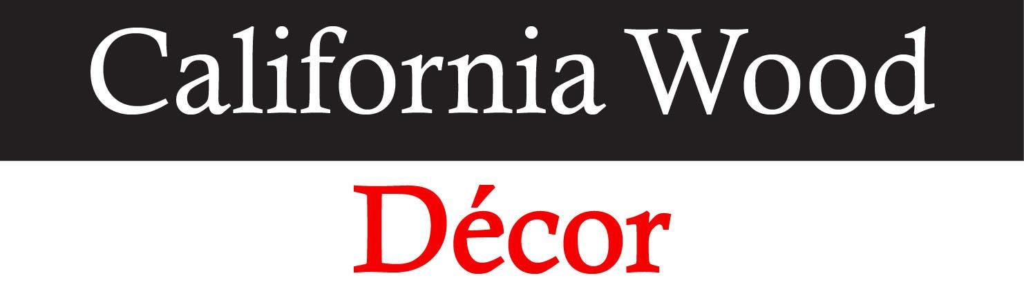 Konkurrenceindlæg #                                        58                                      for                                         Design a Logo for California Wood Decor