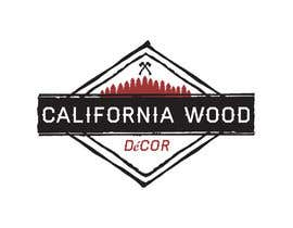 DesignDock tarafından Design a Logo for California Wood Decor için no 25