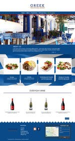 #7 untuk Design for homepage Greek Traditional Tavern oleh zicmedia