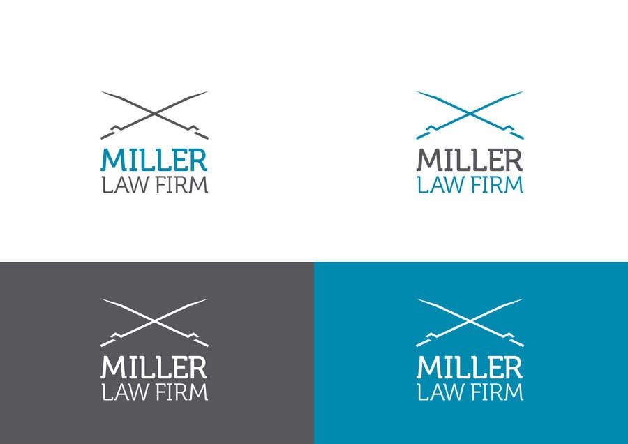 #42 for Logo Design for Miller Law Firm by humphreysmartin