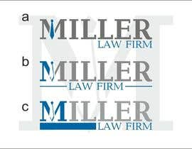 #51 cho Logo Design for Miller Law Firm bởi neboflance