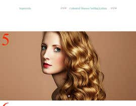 #5 för One page website for hair salon av parikhan4i