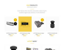 #6 pentru Design a Website Mockup for premium German electronics brand de către syrwebdevelopmen