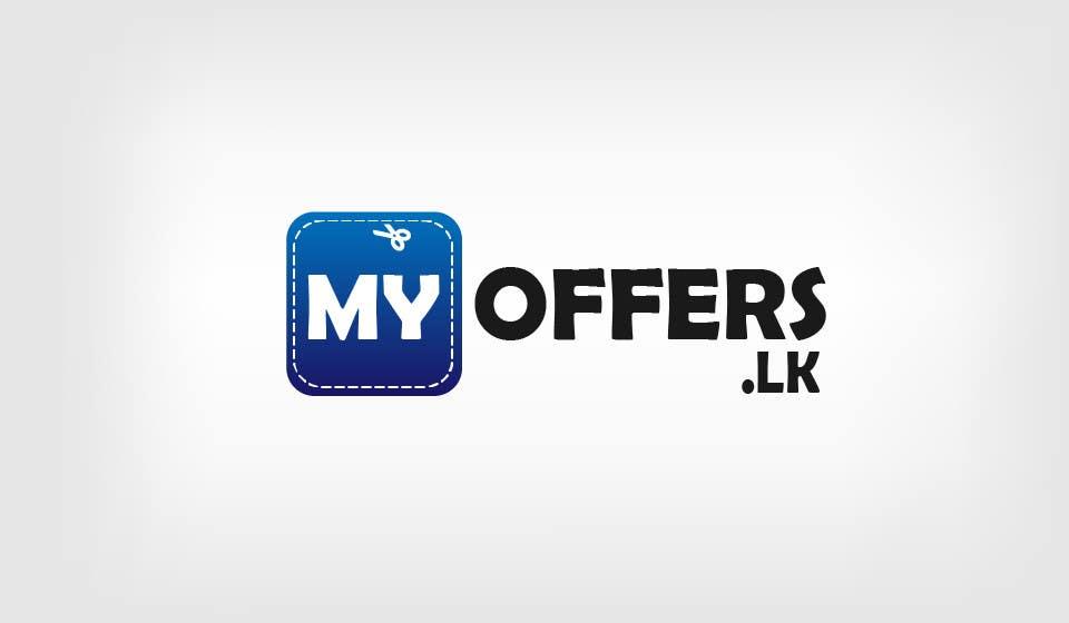 Konkurrenceindlæg #                                        8                                      for                                         Design a Logo for website :www.MYOFFER.LK