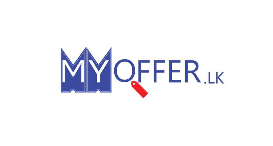 Konkurrenceindlæg #                                        25                                      for                                         Design a Logo for website :www.MYOFFER.LK