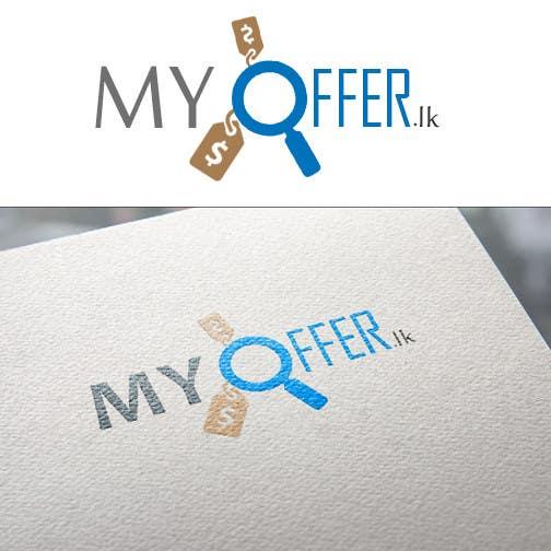 Konkurrenceindlæg #                                        23                                      for                                         Design a Logo for website :www.MYOFFER.LK