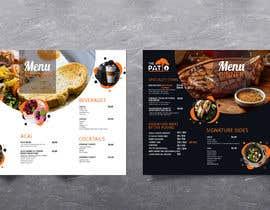 #35 cho 2 Menu Designs for 1 Restaurant bởi Tac82