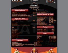 #25 for 2 Menu Designs for 1 Restaurant by HRmahad