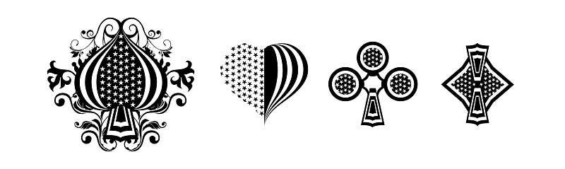 Konkurrenceindlæg #                                        2                                      for                                         spade, heart, flower, diamond design