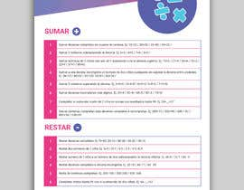 #4 for Graphic designer is needed to create a 2 page list design of math exercises. by miloroy13