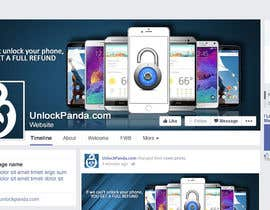nº 21 pour Design a cover for Facebook,YouTube and twitter for UnlockPanda par xristopetkov