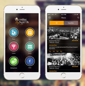 #24 for App design/layout (2 frames) by ankisethiya