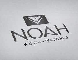 #93 dla Redesign a Logo for wood watch company: NOAH przez georgeecstazy