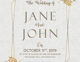 #5 cho Design a Wedding Invitiation Card bởi MHHF