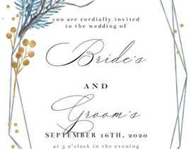 #4 cho Design a Wedding Invitiation Card bởi nrlezzati