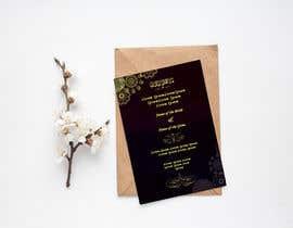 #47 cho Design a Wedding Invitiation Card bởi Noriahadith09