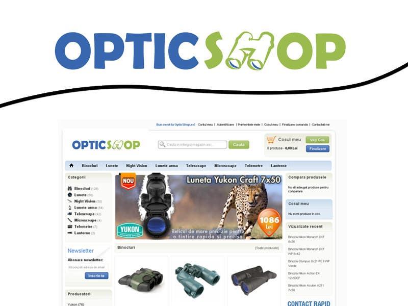 Inscrição nº 67 do Concurso para Logo Design for OpticShop.ro