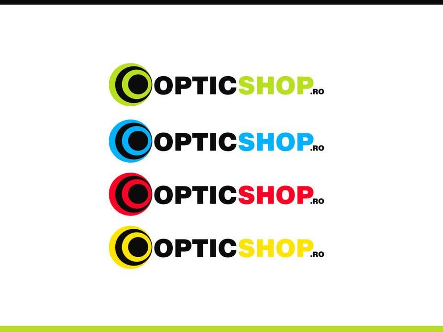 Bài tham dự cuộc thi #71 cho Logo Design for OpticShop.ro
