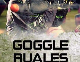 nº 15 pour PAINTBALL RULES Banner Layout (Tough, Diamondplate, grunge, etc) par mohamedchaieb