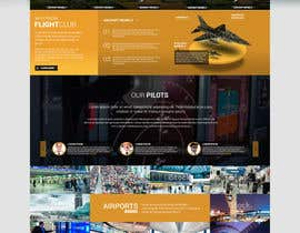#21 dla Design a FUN and AWESOME Aviation Website Design for Flight Club przez massoftware