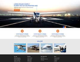 #1 para Design a FUN and AWESOME Aviation Website Design for Flight Club por xsasdesign