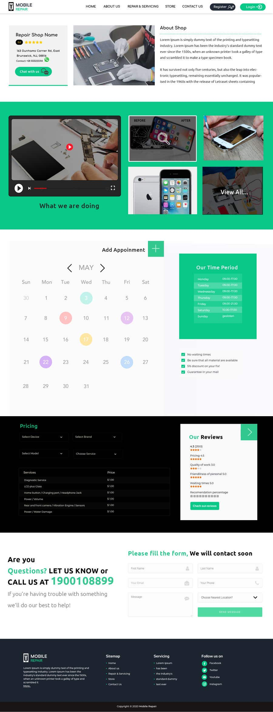 Contest Entry #                                        23                                      for                                         UX design 5 pages