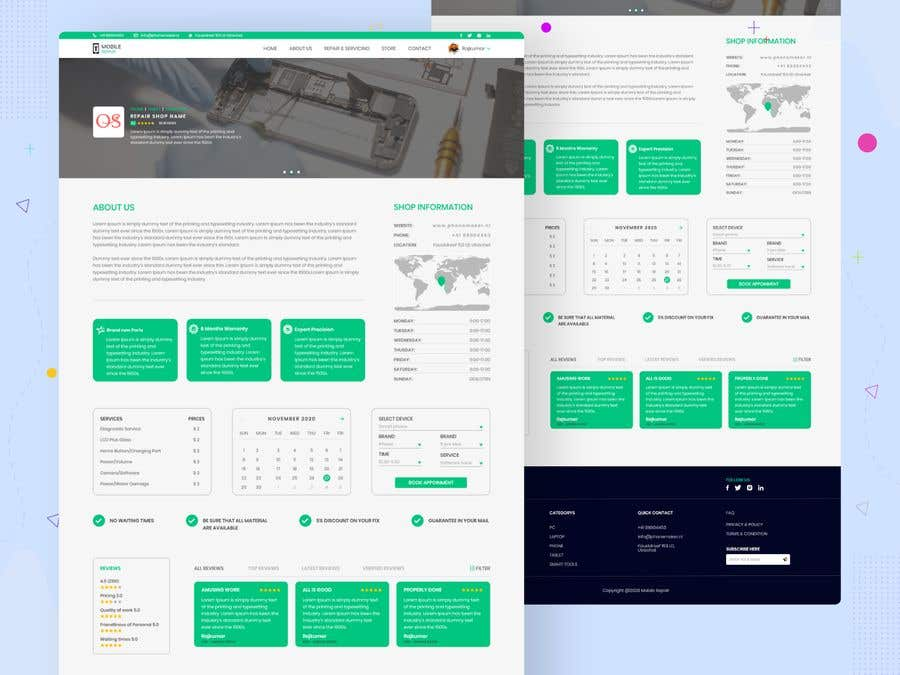 Contest Entry #                                        32                                      for                                         UX design 5 pages