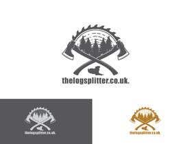 #421 untuk Logo Design - thelogsplitter.co.uk oleh Rakhmanov18
