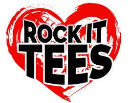 #220 for Rock It Tees logo for T-shirt company by samsudinusam5