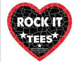 #224 for Rock It Tees logo for T-shirt company by Shahabuddinsbs