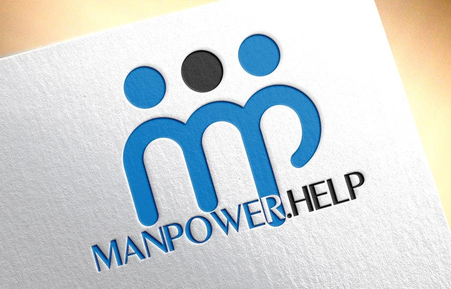Contest Entry #22 for Logo for Manpower.Help