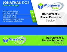 #20 , Logo for Manpower.Help 来自 mashab03