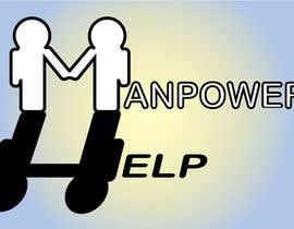 #21 , Logo for Manpower.Help 来自 Katsarida