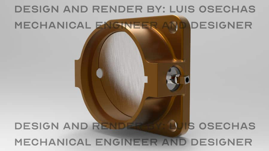 Contest Entry #                                        3                                      for                                         Design 60mm throttle body for a ITB setup for V8 engine