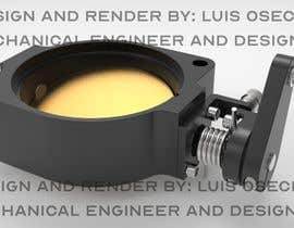 #13 for Design 60mm throttle body for a ITB setup for V8 engine by luisosechas91