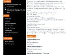 Nro 193 kilpailuun create cv professionnel käyttäjältä Farahhazmi