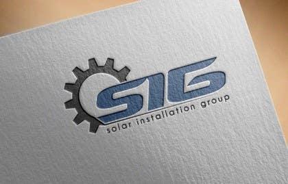 Nro 54 kilpailuun Design a Logo for SIG - Solar Installation Group käyttäjältä RomeoZR