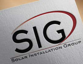 #28 para Design a Logo for SIG - Solar Installation Group de infosouhayl