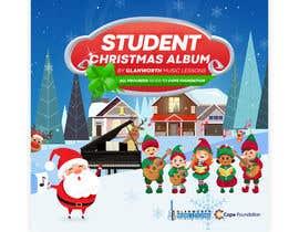 #48 cho Design a student Christmas album cover for for a music school **Easy Brief** bởi MikiDesignZ
