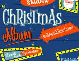#41 cho Design a student Christmas album cover for for a music school **Easy Brief** bởi jorissaabdi