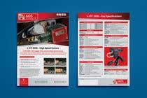 Graphic Design Kilpailutyö #40 kilpailuun New leaflet/datasheet/brochure design for our products