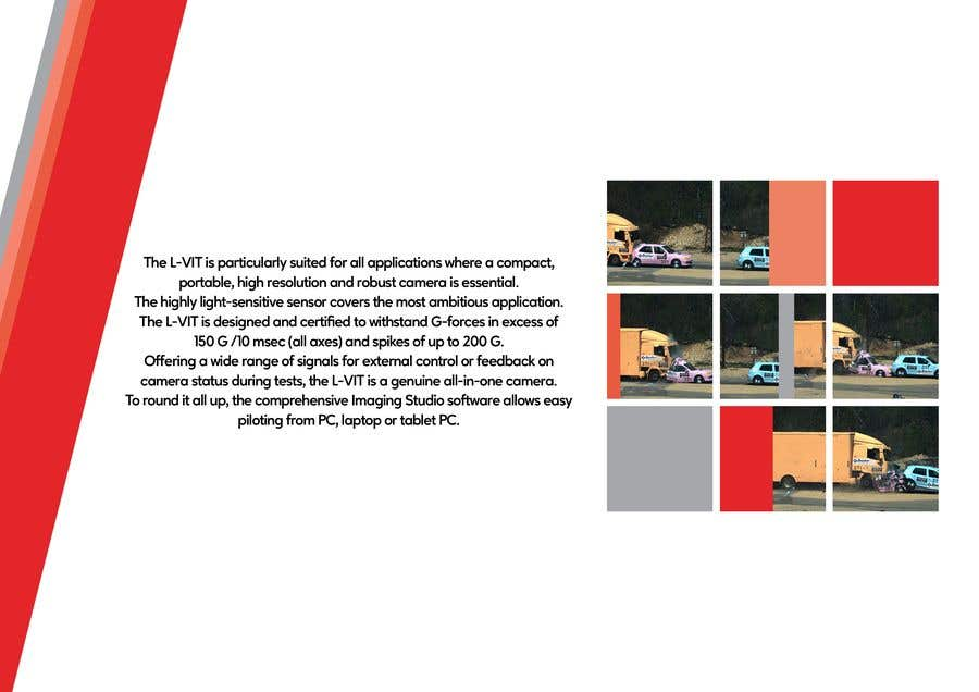 Kilpailutyö #                                        86                                      kilpailussa                                         New leaflet/datasheet/brochure design for our products